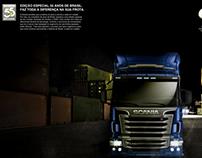 Conceito anúncio Scania