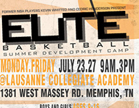 SUMMER BASKETBALL FLYER