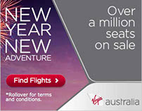 Virgin Air 2016 New Year Sale html5 banner