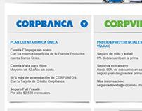 Imagen corporativa - Diseño Mailing @ CorpBanca
