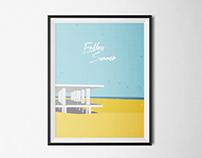 Surffilm Poster ENDLESS SUMMER
