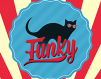 Funky Black Cat Identity
