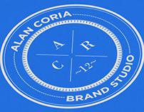 Alan Coria. Logo, Identity & Stationery