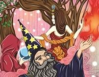 PROJET : Editorial Design - Fantasy Art