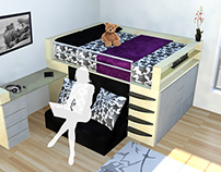 Compact Bed Design