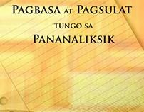 Cover Design Study for Pagbasa at Pagsulat...