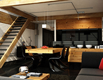 3d visualization / interior design