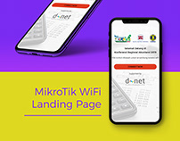 Mikrotik Wifi Landing Page Design