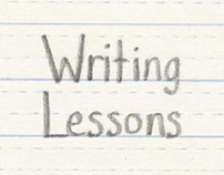 Writing Lessons: Book