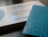 Business Card - Claudio Chiricolo.