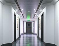 Bay Office Gallery 3D Renders