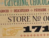 Catering, Chocolate Identity: Vintage Chicago