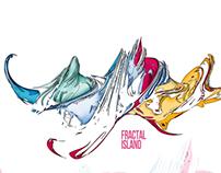 fractal island