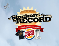 Burger King—Stackons pour le record