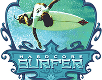 Hardcore Surfer T-Shirt Graphic