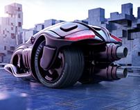 INVADER Jet Trike Concept Design