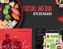 Social Media - K.Maru Sushi Delivery (2019)