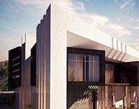 Contemporary villa, Qatar
