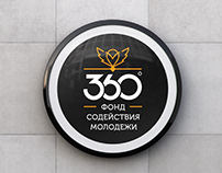 Logo and branding identity for youth promotion fund 360