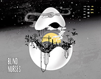 Blind Nurses: Egg Came First Album Cover
