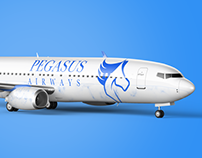 Pegasus Airways Logo Design