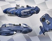 Retro Speeder Concept