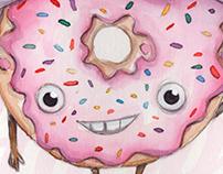 Donuts - Projeto cartas