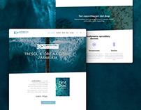 Portfolio website for copywriter (branding)