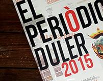 Diseño Editorial | El Periòdic Duler 2015