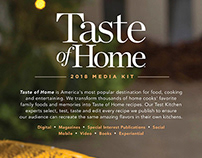 Taste of Home Media Kit