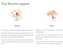Business & Career Coaching Web Design