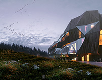 Architectural project ofCommunity Center in Ukraine