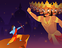 Dussehra Animation