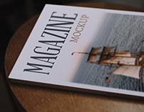 Magazine Mockup 3 Free Psd Download