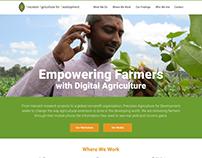 Precision Agriculture for Development Website