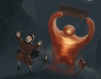 Golem illustration