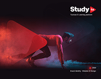 Study.tn Brand Identity Design & Website