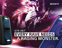 Party Audio Series, Sony Asia