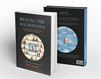 Braving The Wilderness–Brené Brown (Book Cover Design)