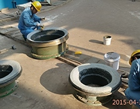 BD706 large particle wear resistant coating video show