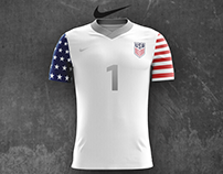 Concept US Men's National Team Nike Soccer Kit Designs