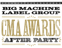 BMLG | CMA After Party Posters