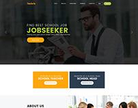 School job Website