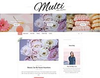 Multi-Authors, Multi-Colors WordPress Blog Theme