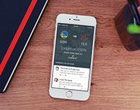 NBA Finals iOS App