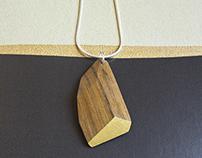 Iroko Wood&cut jewelry collection