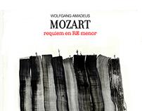Cartel homenaje al Requiem de Mozart
