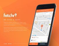 Fetchr IOS App