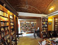 Bookstore Cartea de Nisip design interior Timisoara