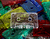 Cassette Tape Business Cards
